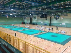 pabellon deportivo de la escuela en Irlanda
