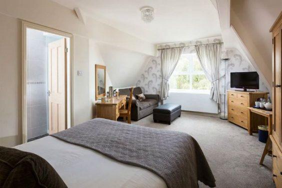 Dormitorio en la residencia de Melton College, York