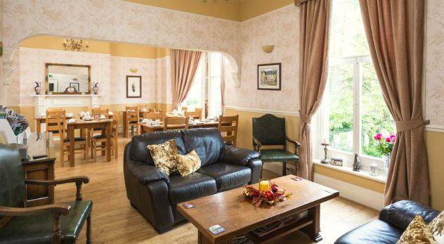 Comedor y salón residencia, Melton College