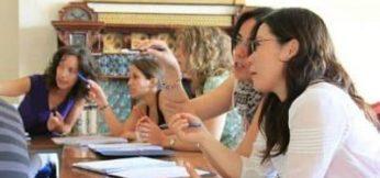 Imagen de un clase de profesores de inglés Erasmus Plus