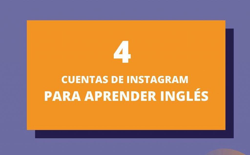 cuentas de instagram para aprender Inglés Ya