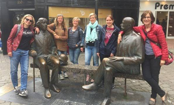 Estudiantes de inglés Galway